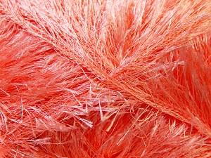 Fiber Content 100% Polyester, Light Salmon, Brand ICE, Yarn Thickness 5 Bulky  Chunky, Craft, Rug, fnt2-22713
