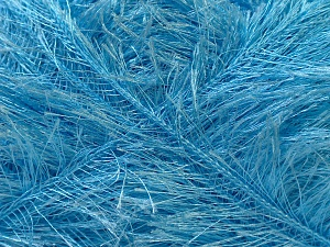 Fiber Content 100% Polyester, Light Blue, Brand ICE, Yarn Thickness 5 Bulky  Chunky, Craft, Rug, fnt2-22733
