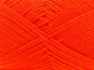 Fiber Content 100% Acrylic, Orange, Brand ICE, Yarn Thickness 2 Fine  Sport, Baby, fnt2-23602