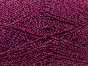 Worsted  Fiber Content 100% Acrylic, Maroon, Brand ICE, Yarn Thickness 4 Medium  Worsted, Afghan, Aran, fnt2-23736