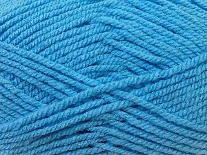 Bulky  Fiber Content 100% Acrylic, Light Blue, Brand ICE, Yarn Thickness 5 Bulky  Chunky, Craft, Rug, fnt2-23761