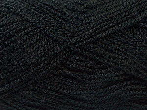 Fiber Content 100% Acrylic, Brand ICE, Black, Yarn Thickness 1 SuperFine  Sock, Fingering, Baby, fnt2-24585