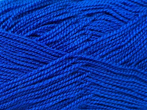 Fiber Content 100% Acrylic, Brand ICE, Blue, Yarn Thickness 1 SuperFine  Sock, Fingering, Baby, fnt2-24607