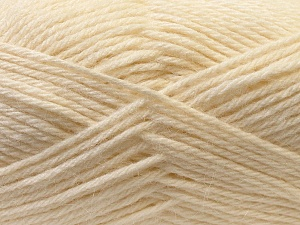 Fiber Content 70% Dralon, 30% Alpaca, White, Brand ICE, Yarn Thickness 4 Medium  Worsted, Afghan, Aran, fnt2-25374