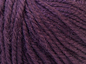 Fiber Content 40% Acrylic, 35% Wool, 25% Alpaca, Purple, Brand ICE, Yarn Thickness 5 Bulky  Chunky, Craft, Rug, fnt2-25404
