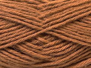 Fiber Content 70% Dralon, 30% Alpaca, Light Brown, Brand ICE, Yarn Thickness 4 Medium  Worsted, Afghan, Aran, fnt2-25664