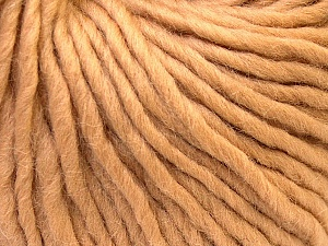 Fiber Content 100% Wool, Light Brown, Brand ICE, Yarn Thickness 5 Bulky  Chunky, Craft, Rug, fnt2-25997