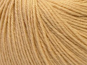 Fiber Content 40% Merino Wool, 40% Acrylic, 20% Polyamide, Brand ICE, Cream, Yarn Thickness 2 Fine  Sport, Baby, fnt2-26114