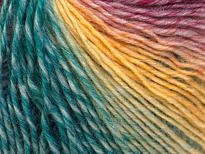 Fiber Content 50% Acrylic, 50% Wool, Yellow, Red, Brand ICE, Emerald Green, Blue, Yarn Thickness 3 Light  DK, Light, Worsted, fnt2-27158
