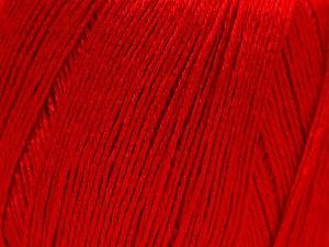 Fiber Content 50% Viscose, 50% Linen, Red, Brand Ice Yarns, Yarn Thickness 2 Fine  Sport, Baby, fnt2-27260
