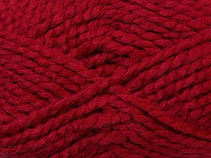 SuperBulky  Fiber Content 60% Acrylic, 30% Alpaca, 10% Wool, Brand ICE, Burgundy, Yarn Thickness 6 SuperBulky  Bulky, Roving, fnt2-30832