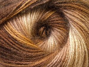 Fiber Content 75% Acrylic, 25% Angora, Brand ICE, Brown Shades, Yarn Thickness 2 Fine  Sport, Baby, fnt2-33234
