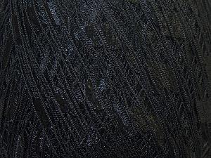 Trellis  Fiber Content 100% Polyester, Brand ICE, Black, Yarn Thickness 5 Bulky  Chunky, Craft, Rug, fnt2-34020