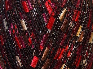 Trellis  Fiber Content 100% Polyester, White, Red, Purple, Brand ICE, Brown, Yarn Thickness 5 Bulky  Chunky, Craft, Rug, fnt2-34130