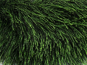 Fiber Content 100% Polyester, Brand ICE, Green, Black, Yarn Thickness 5 Bulky  Chunky, Craft, Rug, fnt2-36647