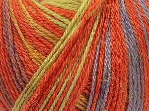 Fiber Content 40% Acrylic, 35% Wool, 25% Alpaca, Yellow, Salmon, Lilac, Brand ICE, Green, Yarn Thickness 2 Fine  Sport, Baby, fnt2-36983