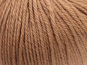 Fiber Content 100% Wool, Brand ICE, Camel, Yarn Thickness 4 Medium  Worsted, Afghan, Aran, fnt2-38000