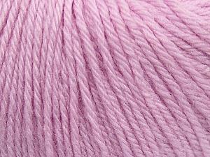 Fiber Content 100% Wool, Light Lilac, Brand ICE, Yarn Thickness 4 Medium  Worsted, Afghan, Aran, fnt2-38009