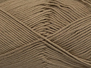 Fiber Content 50% Bamboo, 50% Cotton, Brand ICE, Camel, Yarn Thickness 2 Fine  Sport, Baby, fnt2-41440