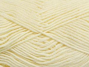 Fiber Content 50% Cotton, 50% Bamboo, Brand ICE, Cream, Yarn Thickness 2 Fine  Sport, Baby, fnt2-41441