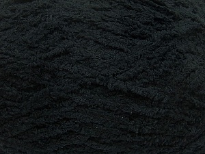 Fiber Content 100% Micro Fiber, Brand ICE, Black, Yarn Thickness 5 Bulky  Chunky, Craft, Rug, fnt2-41752
