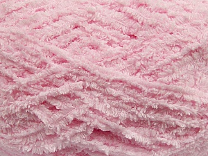 Fiber Content 100% Micro Fiber, Light Pink, Brand ICE, Yarn Thickness 5 Bulky  Chunky, Craft, Rug, fnt2-41767