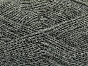 Fiber Content 100% Virgin Wool, Brand ICE, Grey, Yarn Thickness 3 Light  DK, Light, Worsted, fnt2-42305