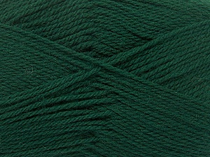 Fiber Content 100% Virgin Wool, Brand Ice Yarns, Dark Green, Yarn Thickness 3 Light  DK, Light, Worsted, fnt2-42312