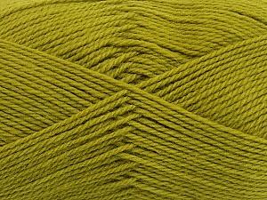 Fiber Content 100% Virgin Wool, Light Green, Brand ICE, Yarn Thickness 3 Light  DK, Light, Worsted, fnt2-42314