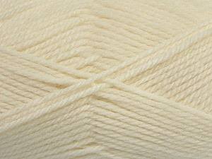 Fiber Content 50% Acrylic, 30% Wool, 20% Polyamide, Brand ICE, Cream, Yarn Thickness 2 Fine  Sport, Baby, fnt2-42414