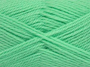 Fiber Content 50% Acrylic, 30% Wool, 20% Polyamide, Brand ICE, Apple Green, Yarn Thickness 2 Fine  Sport, Baby, fnt2-42425