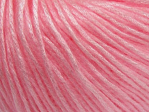 Fiber Content 50% Polyamide, 50% Acrylic, Light Pink, Brand ICE, Yarn Thickness 4 Medium  Worsted, Afghan, Aran, fnt2-42749