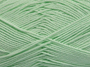 Fiber Content 50% Bamboo, 50% Viscose, Light Green, Brand ICE, Yarn Thickness 2 Fine  Sport, Baby, fnt2-43135