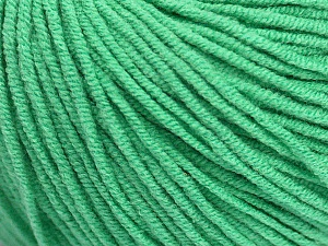 Fiber Content 50% Cotton, 50% Acrylic, Brand ICE, Emerald Green, Yarn Thickness 3 Light  DK, Light, Worsted, fnt2-43837