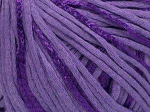 Fiber Content 79% Cotton, 21% Viscose, Lilac, Brand ICE, Yarn Thickness 3 Light  DK, Light, Worsted, fnt2-45203