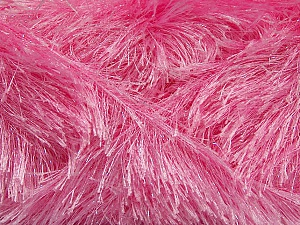 Fiber Content 80% Polyester, 20% Lurex, Light Pink, Brand ICE, Yarn Thickness 5 Bulky  Chunky, Craft, Rug, fnt2-46557