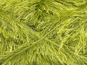Fiber Content 80% Polyester, 20% Lurex, Brand ICE, Green, Yarn Thickness 5 Bulky  Chunky, Craft, Rug, fnt2-46560