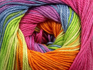 Fiber Content 100% Mercerised Cotton, Orchid, Orange, Lavender, Brand ICE, Green, Burgundy, Blue, Yarn Thickness 2 Fine  Sport, Baby, fnt2-47021