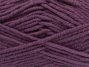 Fiber Content 50% Acrylic, 25% Wool, 25% Alpaca, Purple, Brand ICE, Yarn Thickness 5 Bulky  Chunky, Craft, Rug, fnt2-47146