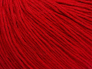 Fiber Content 100% Cotton, Red, Brand ICE, Yarn Thickness 1 SuperFine  Sock, Fingering, Baby, fnt2-47517