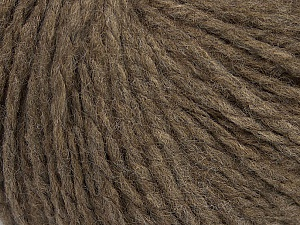 Fiber Content 60% Acrylic, 40% Wool, Brand ICE, Brown, Yarn Thickness 4 Medium  Worsted, Afghan, Aran, fnt2-48786