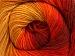 Merino Batik Yellow Red Orange Gold