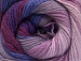 Merino Batik Purple Orchid Lilac Shades