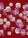 Fiber content: 100% Polyester. Size: 100cm x 100cm (40&ampx40&amp) Pink, Lilac, Brand Ice Yarns, Burgundy, acs-1083