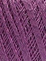 Ne: 10/3 +600d. Viscose. Nm: 17/3 Fiber Content 72% Mercerised Cotton, 28% Viscose, Lilac, Brand ICE, Yarn Thickness 1 SuperFine  Sock, Fingering, Baby, fnt2-49873