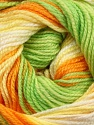 Fiber Content 100% Baby Acrylic, Yellow, White, Orange, Brand Ice Yarns, Green, Yarn Thickness 2 Fine  Sport, Baby, fnt2-50004