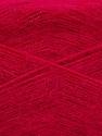 Fiber Content 60% Acrylic, 40% Angora, Brand Ice Yarns, Fuchsia, Yarn Thickness 2 Fine  Sport, Baby, fnt2-50290