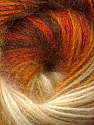 Fiber Content 60% Premium Acrylic, 20% Wool, 20% Mohair, Orange, Brand Ice Yarns, Gold, Cream, Brown, Yarn Thickness 2 Fine  Sport, Baby, fnt2-50294