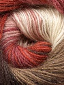 Fiber Content 57% Premium Acrylic, 3% Metallic Lurex, 20% Mohair, 20% Wool, White, Salmon, Orchid, Brand Ice Yarns, Copper, Brown, Yarn Thickness 2 Fine  Sport, Baby, fnt2-50305