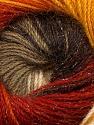 Fiber Content 57% Premium Acrylic, 3% Metallic Lurex, 20% Wool, 20% Mohair, Brand ICE, Gold, Cream, Copper, Camel, Brown, Yarn Thickness 2 Fine  Sport, Baby, fnt2-50316